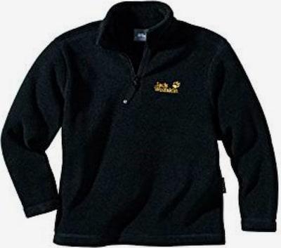 JACK WOLFSKIN Sweatshirt ' Backwoods ' in schwarz, Produktansicht