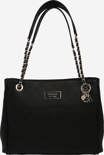 GUESS Schoudertas 'Logo Love Girlfriend Carryall' in de kleur Zwart, Productweergave