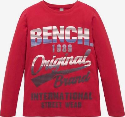 BENCH Langarmshirt in rot, Produktansicht