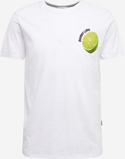 !Solid Shirt 'Joakim SS' in limette / weiß, Produktansicht