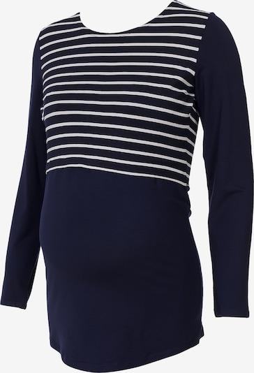 Bebefield Langarmshirt 'Catelyn' in dunkelblau / weiß, Produktansicht
