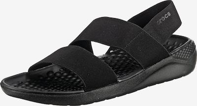 Crocs Literide Stretch Sandal W Komfort-Sandalen in schwarz, Produktansicht