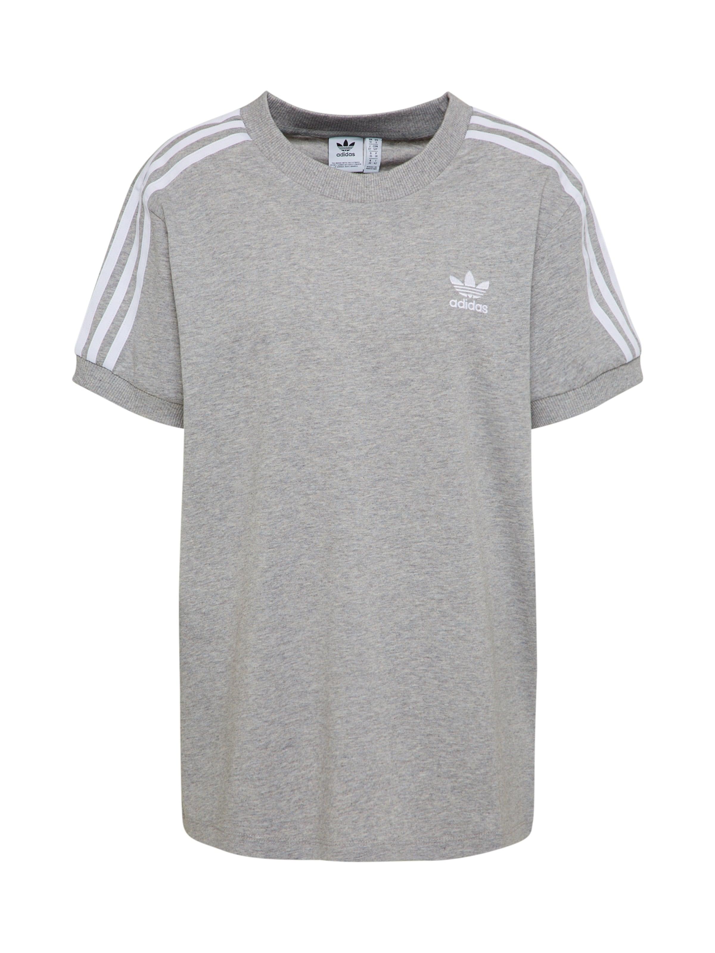 Shirt Grijs GemêleerdWit Adidas Originals In OkwiTPXuZl