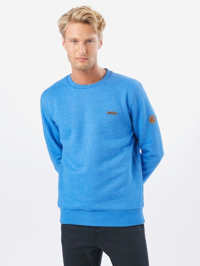 Ragwear Sweatshirt 'INDIE' in himmelblau, Modelansicht