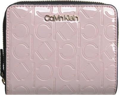 Calvin Klein Geldbörse in rosé / schwarz, Produktansicht