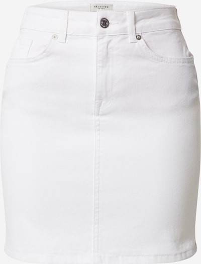 SELECTED FEMME Jeansrock 'KENNA' in white denim, Produktansicht