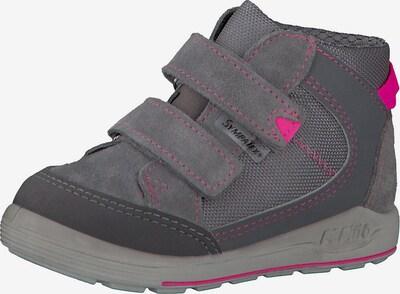 Pepino Lauflernschuhe in grau / pink, Produktansicht