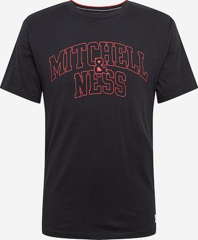 Mitchell & Ness Shirt in rot / schwarz, Produktansicht