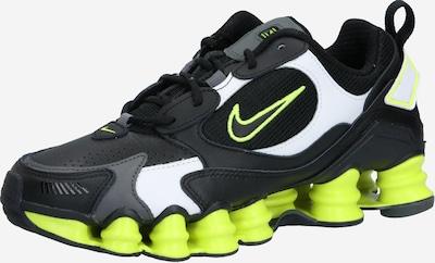 Nike Sportswear Baskets basses 'Shox TL Nova' en citron / gris / noir, Vue avec produit