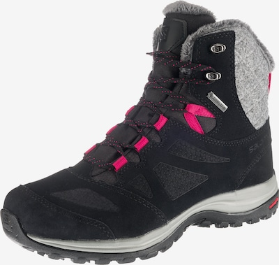 SALOMON Winterstiefeletten 'Ellipse Winter GTX®' in grau / dunkelpink / schwarz, Produktansicht