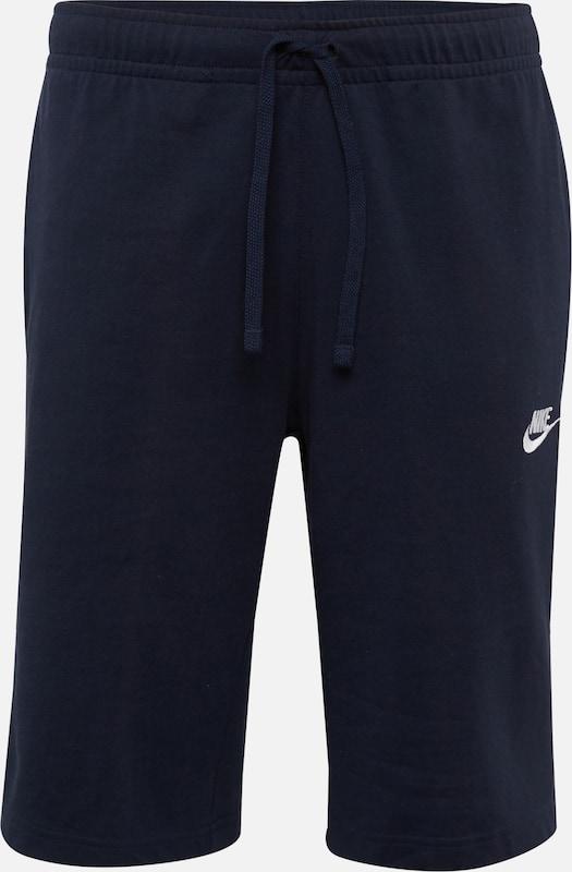 Foncé Pantalon Bleu Short Sportswear 'nsw Jersey En Nike Club' bf6y7g