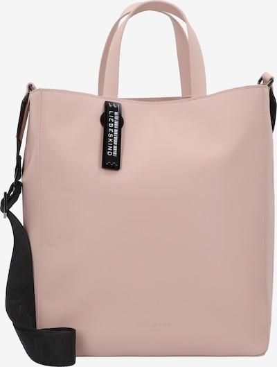 Liebeskind Berlin Shopper in rosa / schwarz, Produktansicht