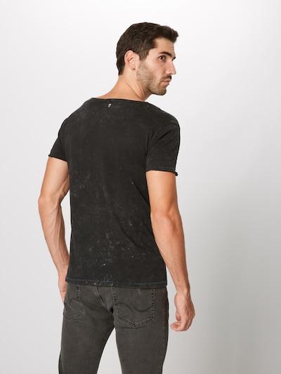 Marškinėliai 'MT BEARDED BIKDER' iš Key Largo , spalva - juoda: Vaizdas iš galinės pusės
