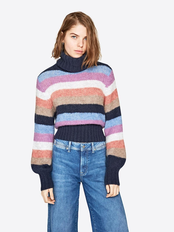Pepe Jeans Pullover 'MARGOTTE'    Dua Lipa   Collection in mischfarben, Modelansicht