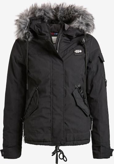 khujo Winterjas 'MERIETTE' in de kleur Zwart, Productweergave