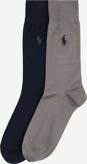 POLO RALPH LAUREN Chaussettes en bleu foncé / gris, Vue avec produit