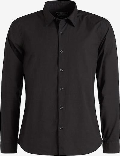 khujo Hemd ' WAITE ' in schwarz, Produktansicht