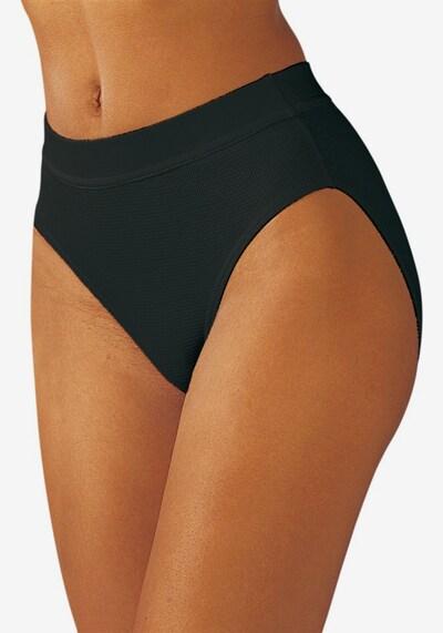 Slip PETITE FLEUR di colore nero: Vista frontale
