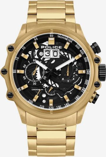 POLICE Uhr in gold, Produktansicht