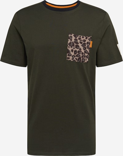 Redefined Rebel T-Shirt 'Palmer' en vert foncé, Vue avec produit