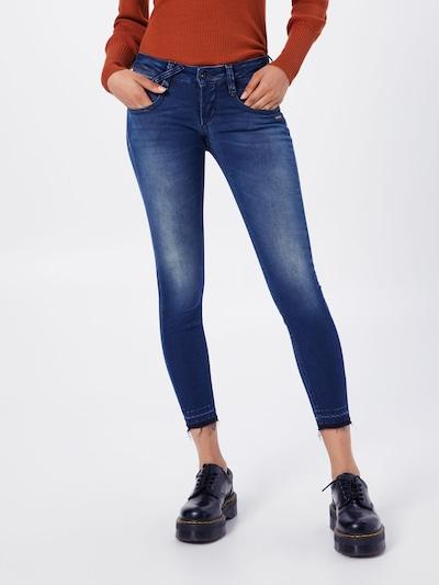 Gang Jeans in de kleur Blauw denim, Modelweergave