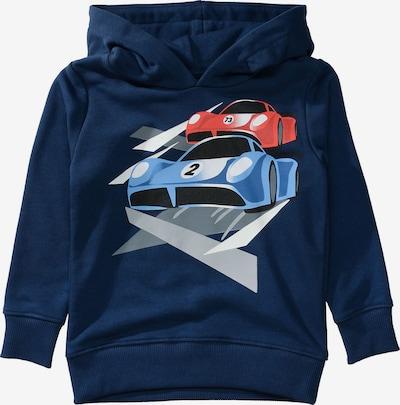STACCATO Sweatshirt in navy / grau / rot, Produktansicht