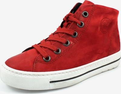 Paul Green Sneaker in blutrot: Frontalansicht