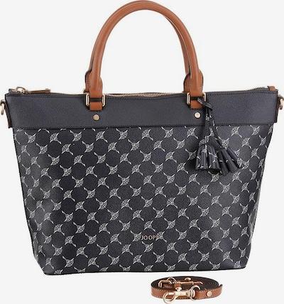 JOOP! Handtasche in nachtblau / braun / weiß, Produktansicht