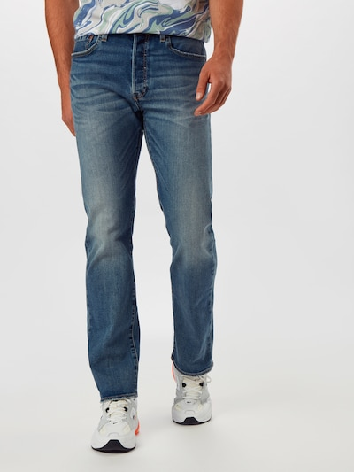 LEVI'S Jeans '501' in blue denim, Modelansicht
