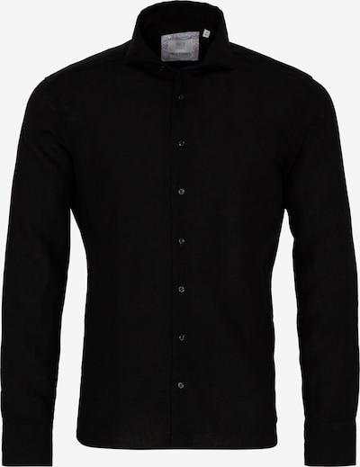 ETERNA Langarm Hemd SLIM FIT in schwarz, Produktansicht