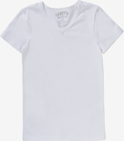 SANETTA Unterhemd für Jungen in weiß, Produktansicht