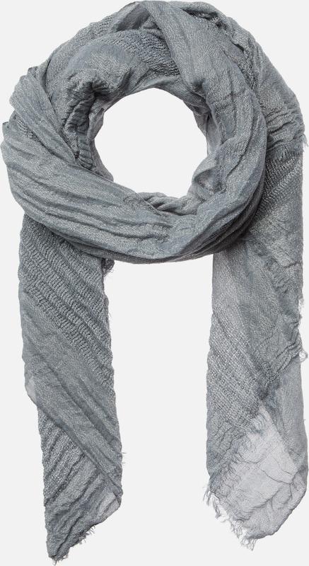CODELLO Woll-Schal aus seidigem Stoff