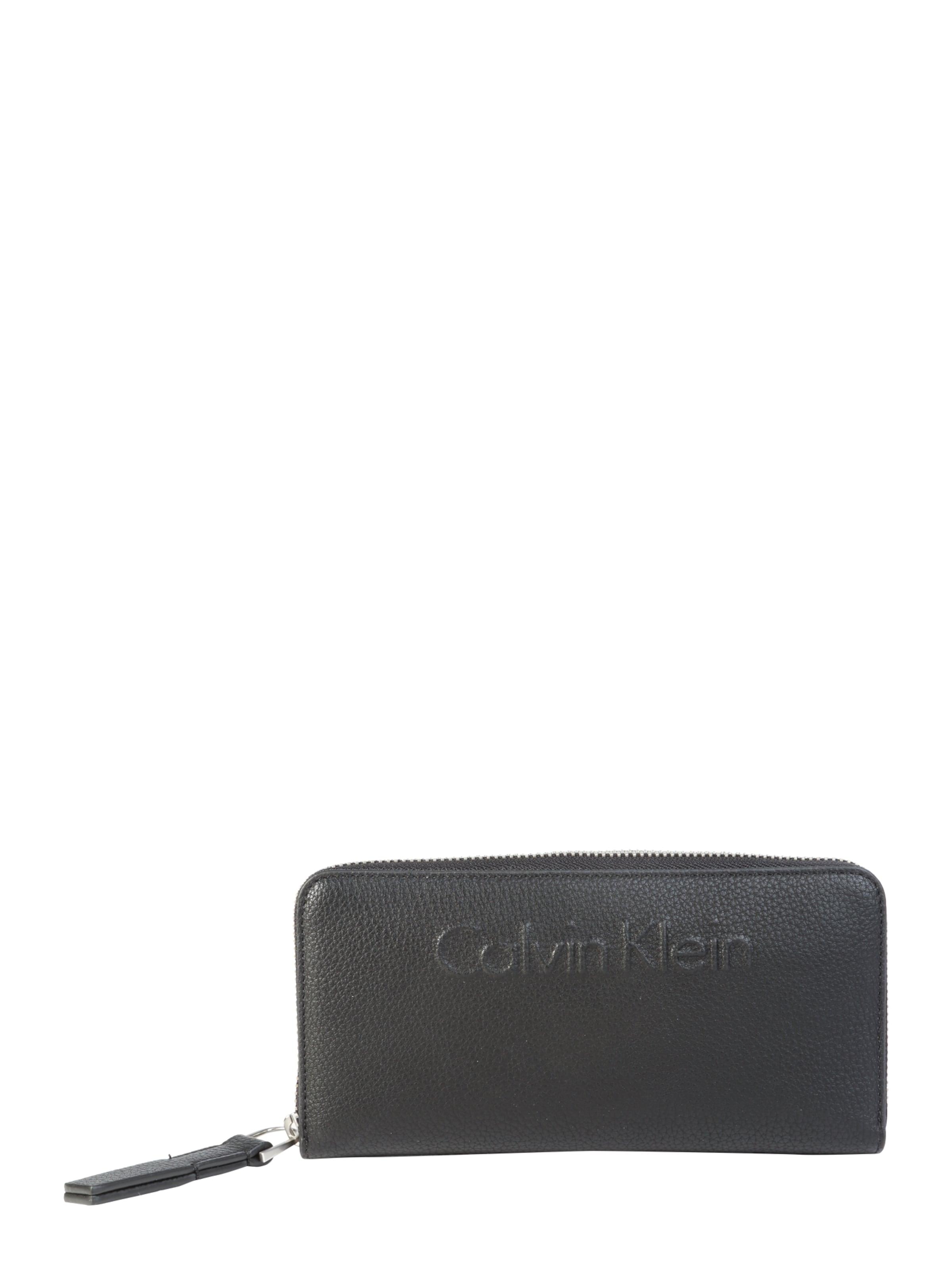 Calvin Klein Portemonnaie 'EDGE LARGE' Kaufen Zum Verkauf A2pyPVDJN