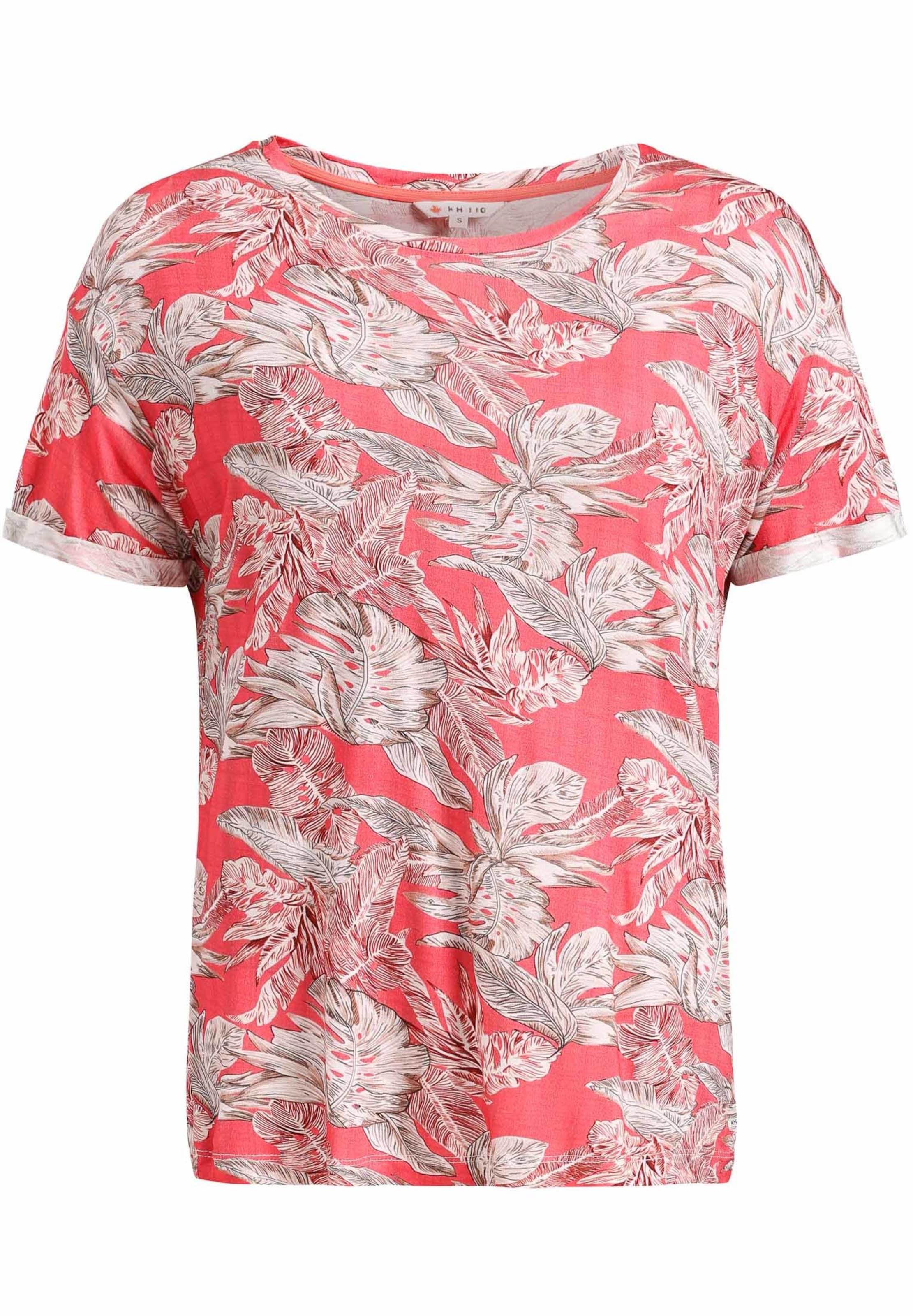 En Blanc Rouge Khujo T Clair Print' 'ornate shirt wngxFRvq4