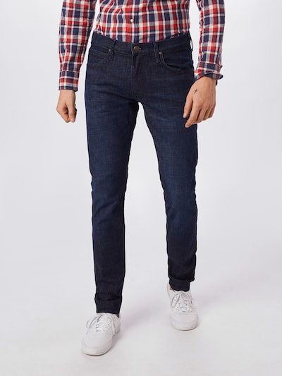 Lee Jeans in blue denim, Modelansicht