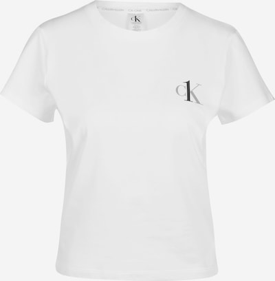 Calvin Klein Underwear Chemise de nuit en gris / noir / blanc, Vue avec produit