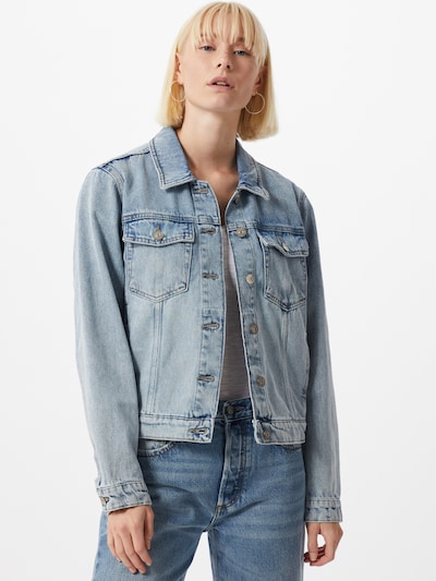 ONLY Jacke 'MARIAH' in blue denim: Frontalansicht