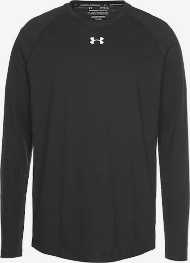 UNDER ARMOUR Langarmshirt in schwarz, Produktansicht