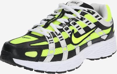 Nike Sportswear Sneaker 'P-6000' in gelb / schwarz: Frontalansicht
