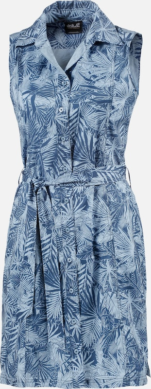 Jack Wolfskin Short Sleeve Dress Sonora Jungle