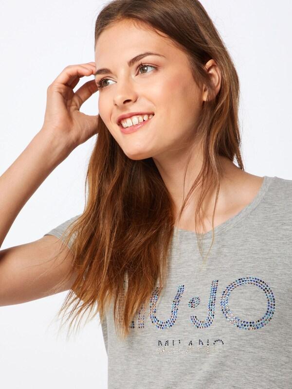 LIU JO JEANS Shirt in in in graumeliert  Neu in diesem Quartal 7ddfb2