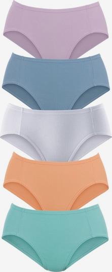 PETITE FLEUR Pikee-Jazzpants in rauchblau / jade / lavendel / apricot / weiß, Produktansicht