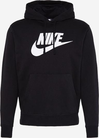 NIKE Sweatshirt in schwarz / weiß, Produktansicht