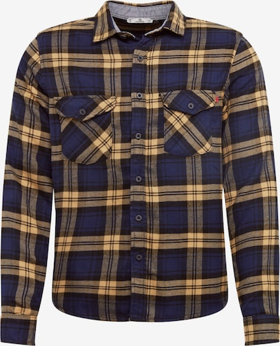 LTB Hemd 'DAWSON' in blau / dunkelgelb, Produktansicht
