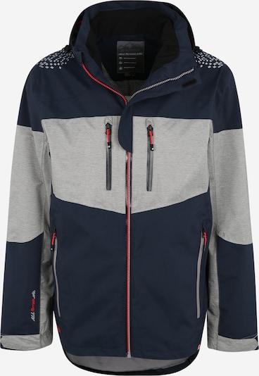 KILLTEC Outdoorová bunda 'Einan' - námornícka modrá / sivá, Produkt