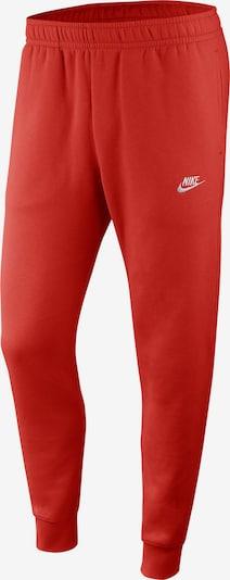 NIKE Pantalon de sport en rouge, Vue avec produit