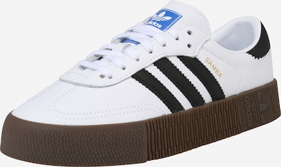 ADIDAS ORIGINALS Sneakers low 'SAMBAROSE' in white, Item view