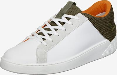LEVI'S Schuhe ' Mullet 2.0 ' in dunkelgrün / orange / weiß, Produktansicht