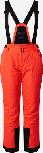 KILLTEC Outdoorbroek 'Erielle' in de kleur Neonoranje / Zwart, Productweergave