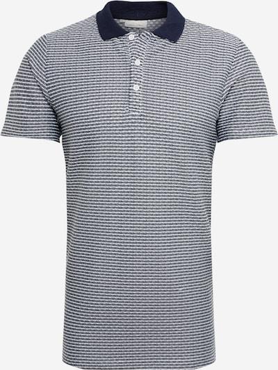 Casual Friday Shirt in navy / weiß: Frontalansicht